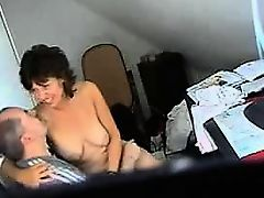 Video from hidden cam - muture fucked in office