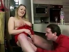 Chap and a busty bitch pissing and astonishingly