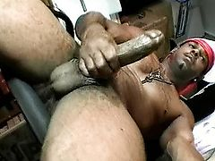 Largest ebony wang rubbed in the back office