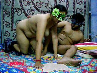 indian chubby milf slut sucks and fucks