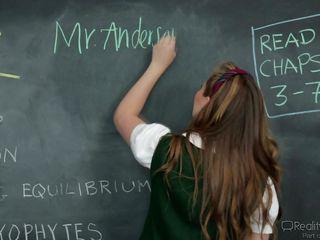 blonde schoolgirl seduces teacher @ sadistic schoolgirls #08