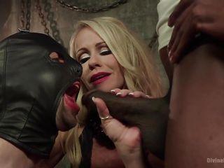 sucking black cock for female-dominant