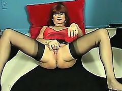 Courtesan Playing With Her Placid Vagina
