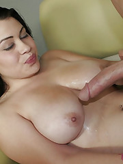 All Natural Cali Swallows a Big Load