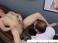 Mormon doctor uses gazoo plug on young guy