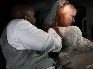 tattooed bride obtains banged in car
