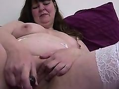 Big obese full-grown mom in white stockings - My Affair on BBW-