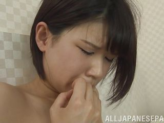 alluring japanese lesbos get secret