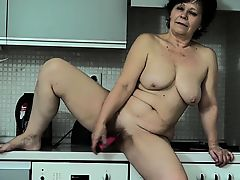 OldNanny Mature and infant lesbia appliance gathering
