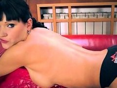 Russian Domme Squirts Hard