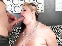 Sexy chunky girl fucked good