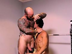 Tattooed bear stepfather