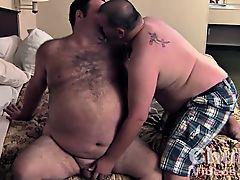 Daddies Big Round Furry Belly