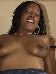 Bedroom Group-fucked Black Babe