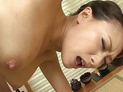 Copulation with Asian model